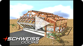 Schweiss Doors builds for building Endwall