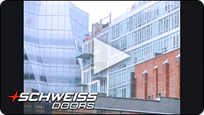 There are many cladding options for Schweiss Doors.