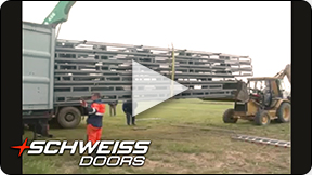 Schweiss Doors is ready to ship around the world.