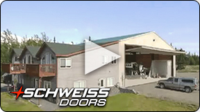 Schweiss sells bifold and hydraulic doors across America