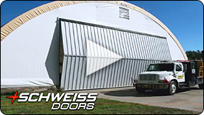 The Advantage is Schweiss Doors
