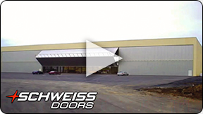 Schweiss Door has options for truss placement