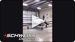 Tennessee Turntable Hangar with Schweiss Door