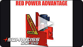 Schweiss Quality Red Power Pumps open new doors everyday.
