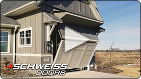 Schweiss hidden RV Garage Door