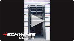 Schweiss liftstrap door are safe and secure