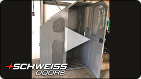Schweiss Doors elevator is one of a kind.