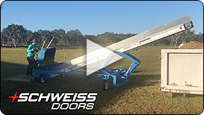 Manure Conveyor and Hauler from Schweiss