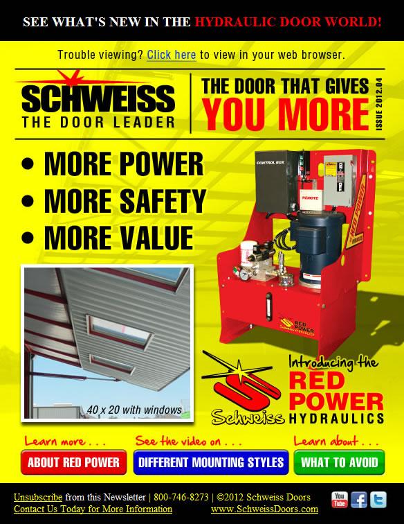 Schweiss Newsletter
