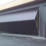 Schweiss Lift Strap Bifold Door Just installed