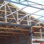 Strong hydraulic door framework, no wood, only steel