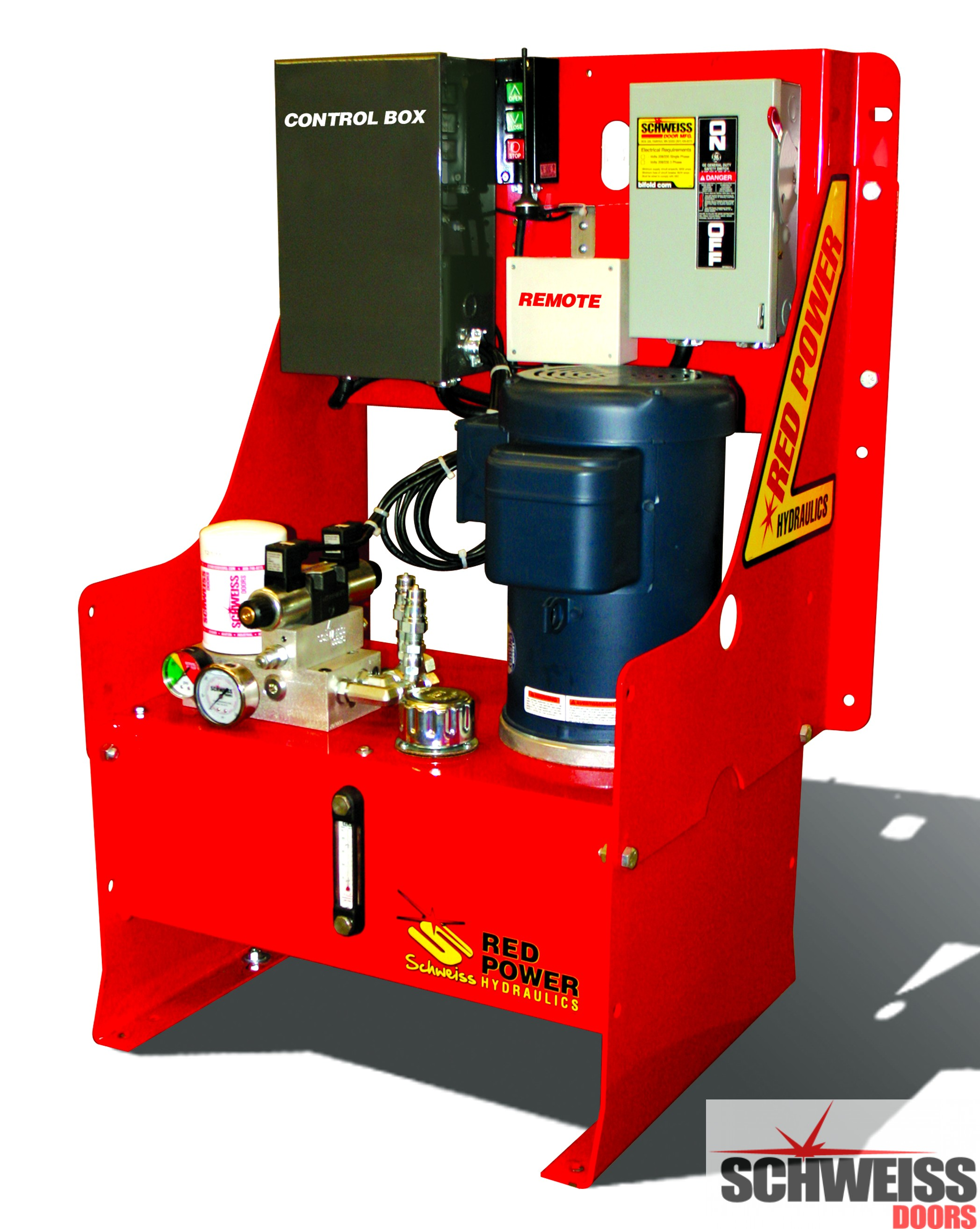 Better designed hydraulic door compact pump