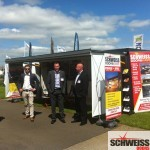 Schweiss hydraulic show container