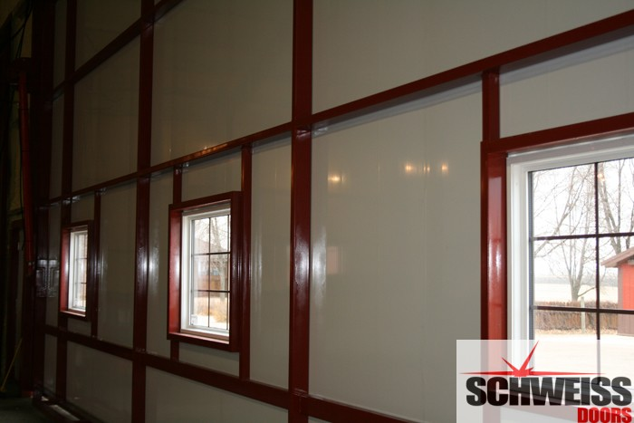 Hydraulic Doors Brighten Up With Glass Panels Or Windows