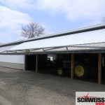 Schweiss Hydraulic doors by Schweiss are perfect for pole buildings on the sidewalls and the endwalls.