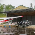 FloatPlaneHangarHydraulicDoor