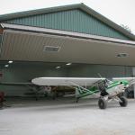 SuperCub Aviation Hangar Doors
