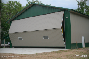 Schweiss Liftstrap Hangar Door