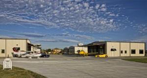 Aero Country East hangars with Schweiss Hangar Doors
