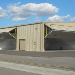 Aviation Hangar Doors . . . T-Hangars