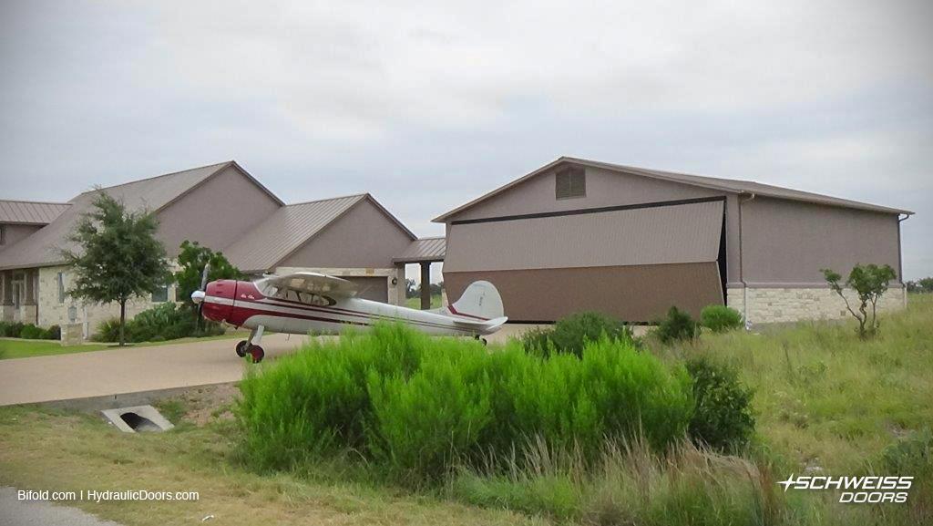 Texas Hangar Home Bifold Door